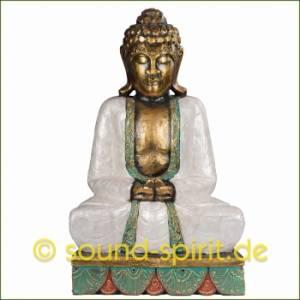 Perlmutt-Buddha-Statuen 20 Prozent Aktion im März