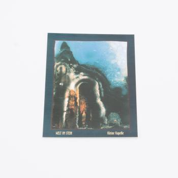 Postkarte Welt im Stein Kleine Kapelle