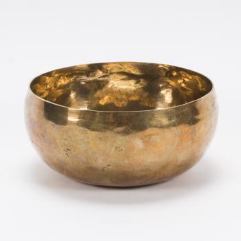 Planetenschale® Voller Harmonie & Ausgeglichen fühlen mit Venus & Wasserstoffgamma, Ø 12,2 cm, 260-320 Gramm inkl. Klöppel