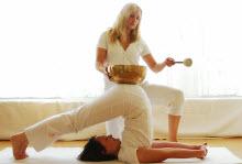 Klangschalen im Yoga