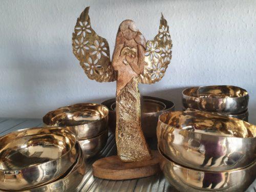Engel Ambriel und Klangschalen