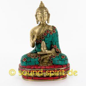 Buddha Statue aus Messing