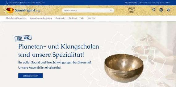 Zum Sound-Spirit Online-Shop