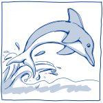Planetenschale Delfin - Mehr Info