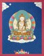 Thangka Bodhisattva Chenresig