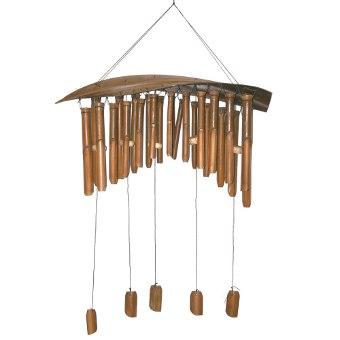Bambus Windspiel